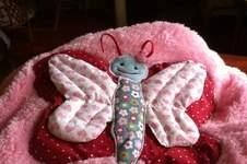 Makerist - Kuscheldecke Schmetterling   für meine jüngste Enkeltochter - 1