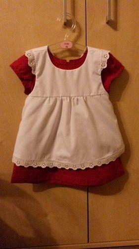 Makerist - Kleid zum 1. Geburtstag - Nähprojekte - 1