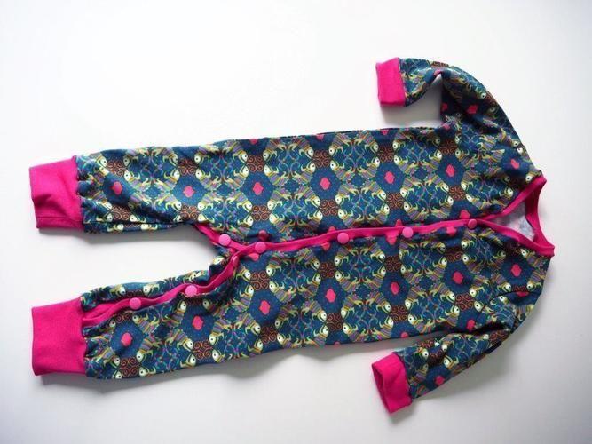 Makerist - Gecko Jumpsuit - Mädchen Gr. 68 - Nähprojekte - 1