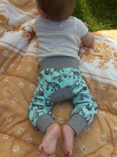 Makerist - Monkey-Pants von Kid5 für mein kleines Äffchen ;) - Nähprojekte - 1