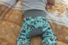 Makerist - Monkey-Pants von Kid5 für mein kleines Äffchen ;) - 1