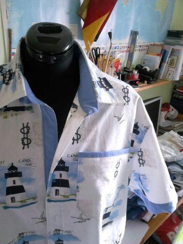 Makerist - Freizeithemd für den Mann - Nähprojekte - 1