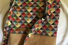 Makerist - Schultertasche mit Kork - 1