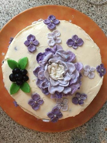 Makerist - Heidelbeer frischkäsetorte - Torten, Cake Pops und Cupcakes - 1