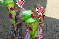 Makerist - Fliesblütenmeer zur Einschulung  - 1