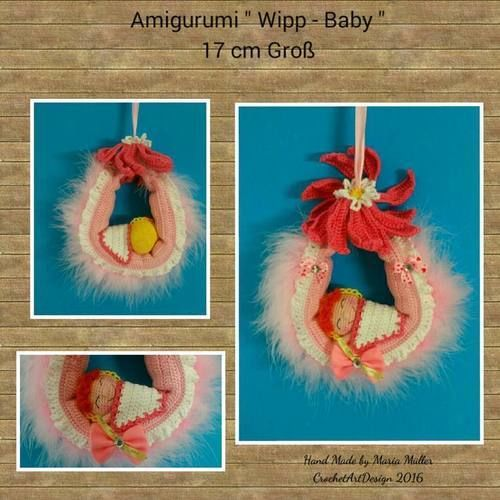 Makerist - Amigurumi Wipp-Baby - Häkelprojekte - 2