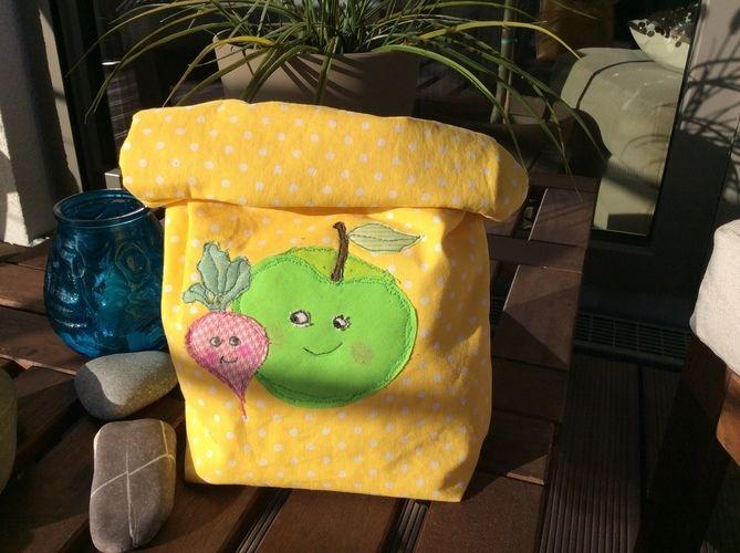 Makerist - Lunchbag Stoff - Nähprojekte - 1