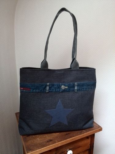 Makerist - Tasche Blau  - Nähprojekte - 1