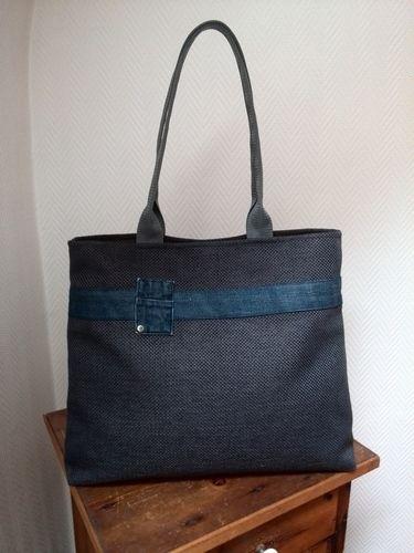 Makerist - Tasche Blau  - Nähprojekte - 2