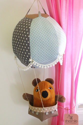 Makerist - Ein Heißluftballon fürs Kinderzimmer - Nähprojekte - 1