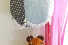 Makerist - Ein Heißluftballon fürs Kinderzimmer - 1