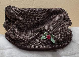 Makerist - Loopschal aus Kuschelfleece und Wolle - 1