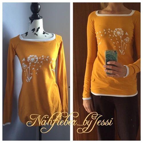 """Makerist - Herbstgold-Reglan""""shirt"""" - Nähprojekte - 1"""