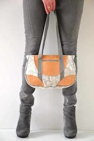 Makerist - Handtasche mit Kork - 1