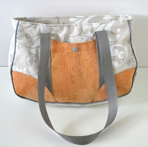 Makerist - Handtasche mit Kork - Nähprojekte - 2