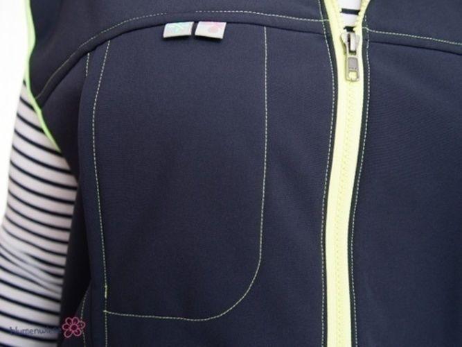 Makerist - Softshell-Weste mit Zweiwege-Reißverschluss zum Wandern, Fahrradfahren,... - Nähprojekte - 3