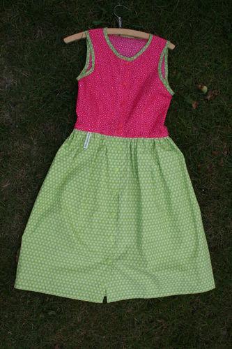 Makerist - Dirndl für kleine Mädchen aus Baumwolle - Nähprojekte - 3