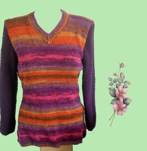 Makerist - Pullover mit Farbverlauf - Etwas Besonderes für jede Gelegenheit - Strickprojekte - 1