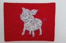 Makerist - Schweini - Malen mit der Nähmaschine - 1