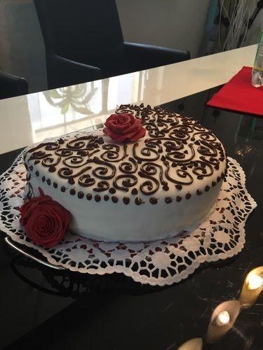 Makerist - Quark-Pfirsich-Torte (Mutter-Tochter-Projekt) - Torten, Cake Pops und Cupcakes - 1