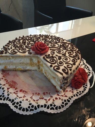 Makerist - Quark-Pfirsich-Torte (Mutter-Tochter-Projekt) - Torten, Cake Pops und Cupcakes - 2