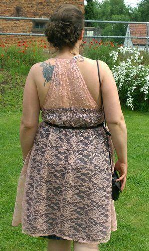 Makerist - Kleid für Hochzeitsgast aus Spitze und Jersey - Nähprojekte - 2