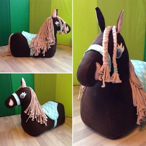 Makerist - Reittierpferd für's Minimädchen  - Nähprojekte - 1