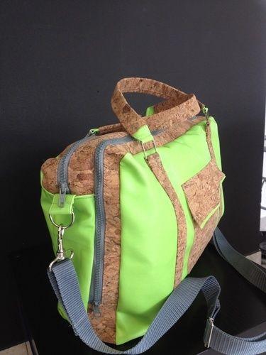 Makerist - Stylische Handtasche /Aktentasche  - Nähprojekte - 2