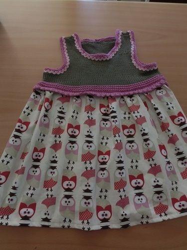 Makerist - Mädchenkleid in Kleinkindgröße - Strickprojekte - 1