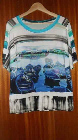 "Makerist - Fledermaus Shirt ""Urlaubsträume"" Aus Viskosejersey - 1"