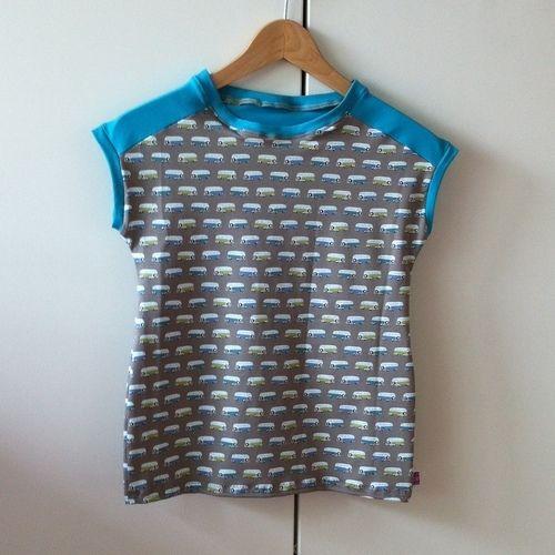 Makerist - Easy Peasy T - Mein erstes Shirt für mein Patenkind - Nähprojekte - 1