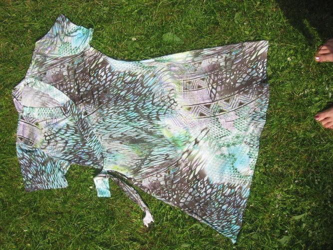 Makerist - Meerjungfrauen-Grün mit Halbarm - Nähprojekte - 1