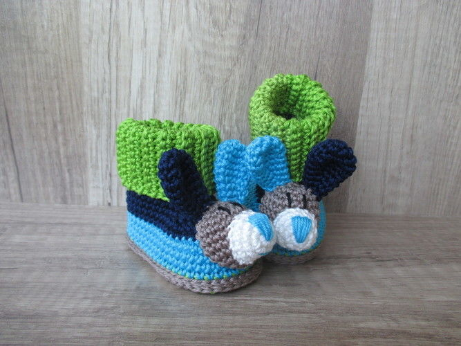 Makerist - Zuckersüße Babybooties - Häkelprojekte - 2