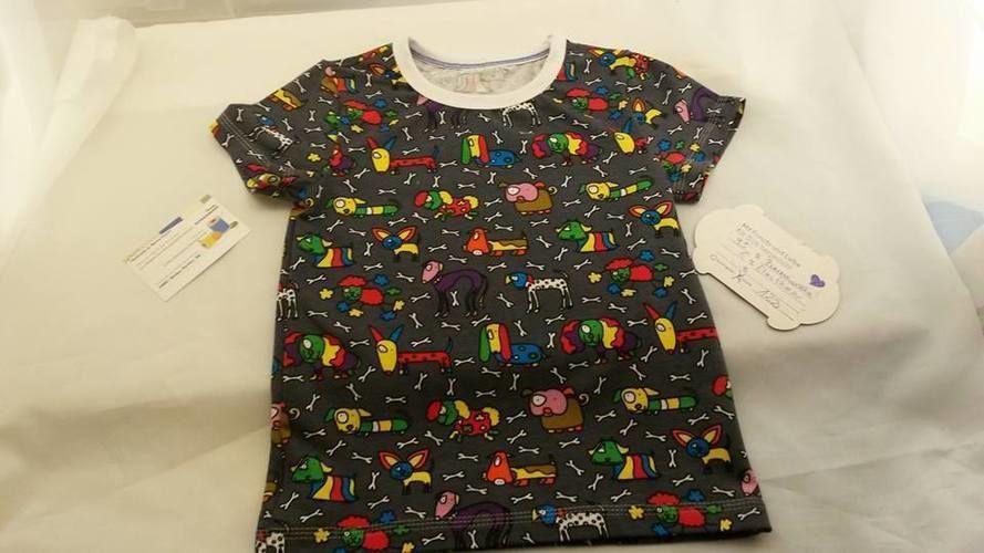 Makerist - Kinder T-shirt bunte Hunde - Nähprojekte - 1