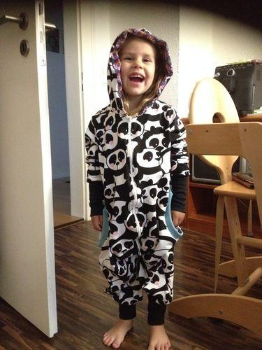 Makerist - Spielanzug(Jumpsuit) ,aus Jersey ,für meine Tochter - Nähprojekte - 1