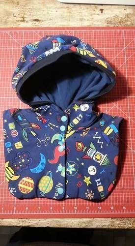 Makerist - Kapütze für Adam - Nähprojekte - 1
