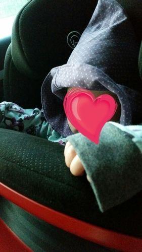 Makerist - Süßer Jersey PulliPoncho mit Kapuze und aufgesetzter Tasche für meine fast 1Jährige Tochter  - Nähprojekte - 1