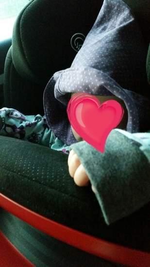 Makerist - Süßer Jersey PulliPoncho mit Kapuze und aufgesetzter Tasche für meine fast 1Jährige Tochter  - 1