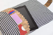 Makerist - iPad-Hülle aus Stoff und Kork - 1