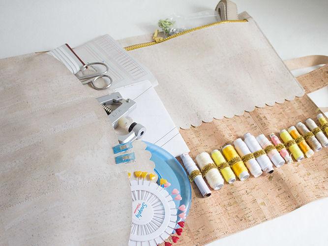Makerist - Nähkoffer aus Korkstoffen - Nähprojekte - 1