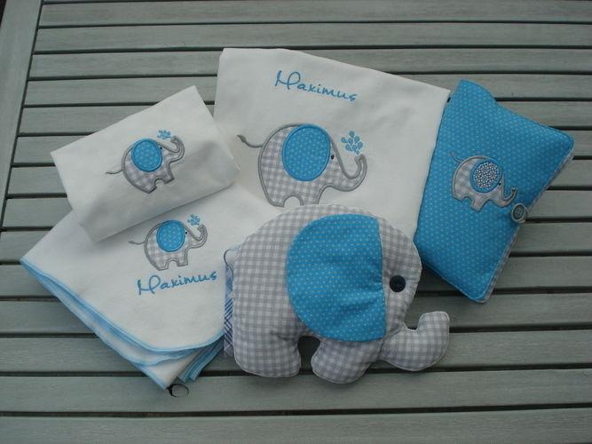 Makerist - Elefantenparade für Maxi - Textilgestaltung - 1
