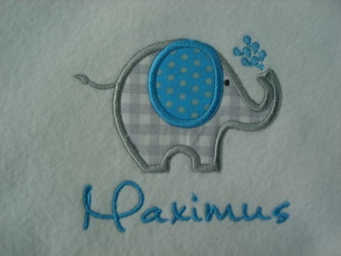 Makerist - Elefantenparade für Maxi - Textilgestaltung - 3