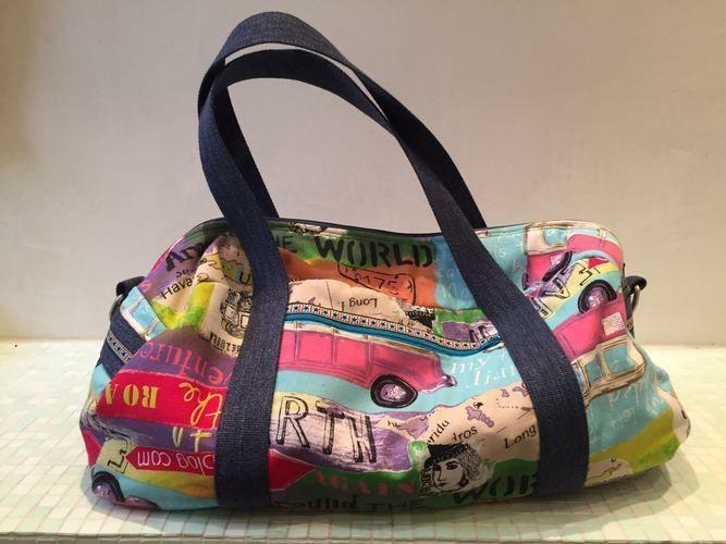 Makerist - Reisetasche für meine Enkelin für die USA - Reise. - Nähprojekte - 1