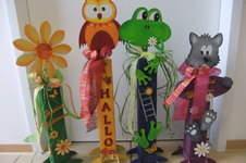 Makerist - Lustige Gesellen vor der Haustüre - 1