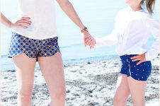 "Makerist - SOMMER TREND ""COACHELLA SHORTS - 1"