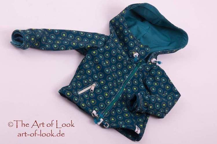 Makerist - Softshelljacke für Kinder  - Nähprojekte - 1