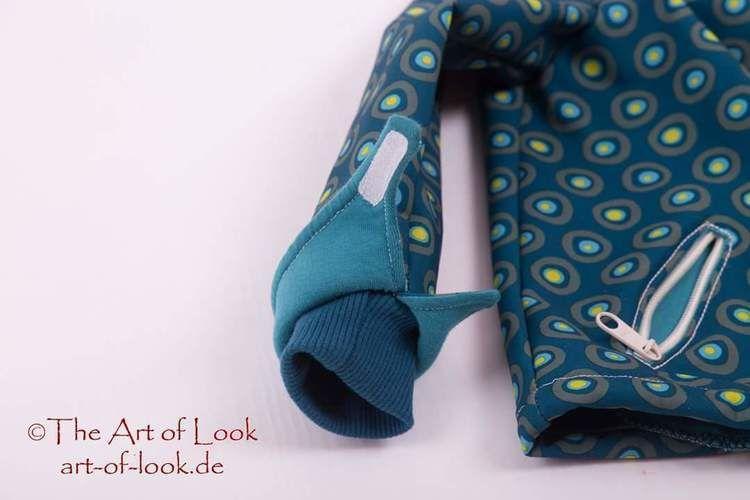Makerist - Softshelljacke für Kinder  - Nähprojekte - 3