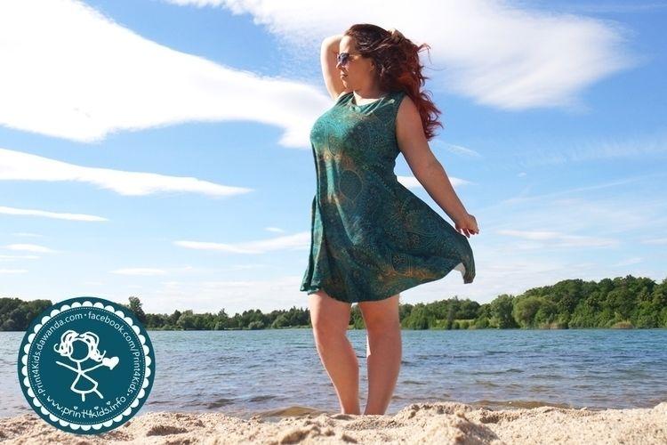 Makerist - Herzkleid ein Traumkleid für mich aus Jersey - Nähprojekte - 1