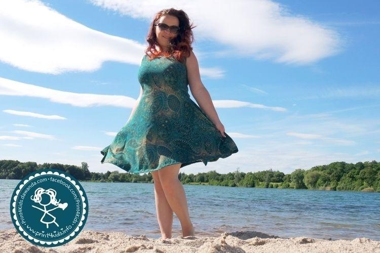Makerist - Herzkleid ein Traumkleid für mich aus Jersey - Nähprojekte - 3