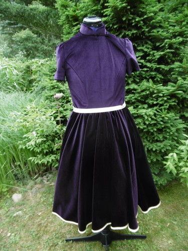 Makerist - Petticotkleid, aus Samt, für mich (als Probekleid) - Nähprojekte - 1